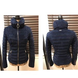 Guess zip up coat